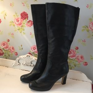 🌟Nine West🌟leather knee high boots🌟